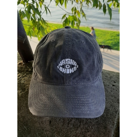 HASHA CORDUROY CAP - POWDER GREY