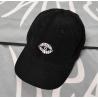 HASHA CORDUROY CAP - BLACK